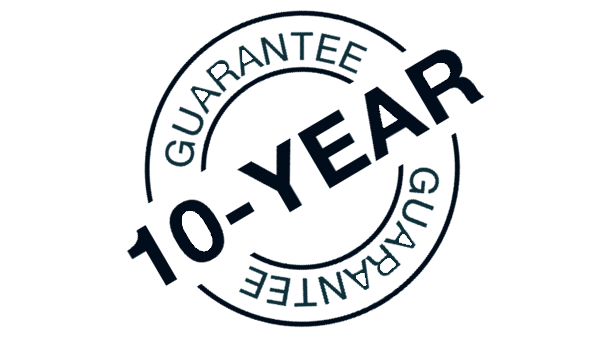 A picture showing that we offer a 10 year guarantee on our windows and doors in and around sutton, cheam